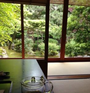 茶寮 宝泉の庭園