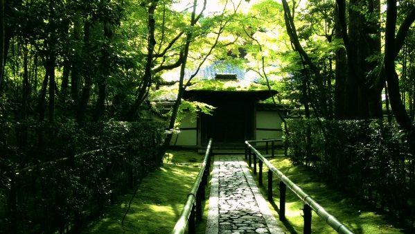 京都:庭園と和菓子を楽しむオススメの2軒