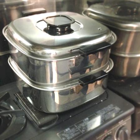 【和菓子道具】和菓子作り始めるなら持っておきたい道具①:蒸し器