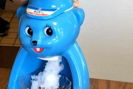 教室でも使っています!「かき氷器」