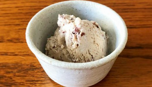 つぶあんで作る「小豆アイスクリーム」の作り方