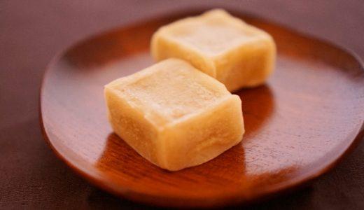 【栗の甘露煮の活用レシピ】栗きんつばの作り方