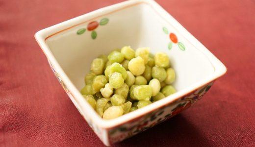 うぐいす豆の甘煮の作り方